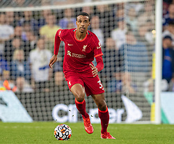 LEEDS, ENGLAND - Sunday, September 12, 2021: Liverpool's Joel Matip during the FA Premier League match between Leeds United FC and Liverpool FC at Elland Road. Liverpool won 3-0. (Pic by David Rawcliffe/Propaganda)