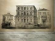 Illustration of the Palazzo Grimani 1940.