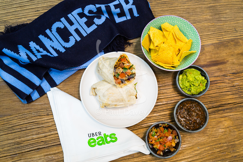 Promotional shots for Uber Eats Champions League. London, March 27 2018.