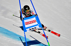 09.03.2017, Are, SWE, FIS Ski Alpin Junioren WM, Are 2017, Super G, Damen, im Bild Fanny Axelsson, IFK Mora 22:a // during ladie's SuperG of the FIS Junior World Ski Championships 2017. Are, Sweden on 2017/03/09. EXPA Pictures © 2017, PhotoCredit: EXPA/ Nisse<br /> <br /> *****ATTENTION - OUT of SWE*****