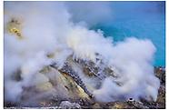 Mt Ijen Sulphur Mine - Indonesia