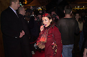 Danni Minogue. Glamour magazine launch party. Red Cube. 6 March 2001. © Copyright Photograph by Dafydd Jones 66 Stockwell Park Rd. London SW9 0DA Tel 020 7733 0108 www.dafjones.com