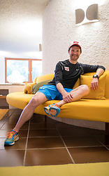 23.05.2016, Hotel Ambach, Kaltern, AUT, OeSV, Nordische Kombination, Trainingslager, im Bild Trainer Jochen Strobl // Coach Jochen Strobl during a Photocell of Austrian Ski federation Nordic Combined Team at the Hotel Ambach, Kaltern, Italy on 2015/05/23. EXPA Pictures © 2016, PhotoCredit: EXPA/ Johann Groder