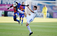 Fotball , 22. august 2015 ,   Eliteserien , Tippeligaen <br /> Sandefjord - Stabæk<br /> Cheikhou Dieng , Sandefjord<br /> Yassine El Ghanassy , Stabæk