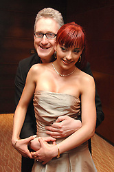 GABRIELA IRIMIA and LEMBIT OPIK MP at the Macmillan Cancer Suport Parliamentay Palace of Varieties Show held at the Intercontinental Hotel, Park lane, London on 7th February 2008.<br /><br />NON EXCLUSIVE - WORLD RIGHTS