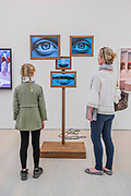 Self-Delusion, 2017, by Charlotte Colbert - Selfies by contemporary artists - From Selfie to Self-Expression at the Saatchi Gallery. The exhibition looks at the history of the Selfie from portrait artists though to modern day selfies and features self-portraits by Rembrandt, Van Gogh, Lucian Freud, Cindy Sherman, Tracey Emin, through to modern day selfies from Kim Kardashian, Hillary Clinton, Ryan Gosling, Trump and others. In addition part of the exhibition includes an international selfie competition; over 14,000 selfies have been submitted to the competition and will be exhibited at the gallery alongside other art works. The show is sponsored by Huawei and runs from 31st March – 30th May 2017.