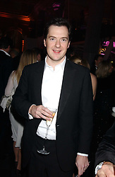GEORGE OSBORNE MP at the Conservative Party's Black & White Ball held at Old Billingsgate, 16 Lower Thames Street, London EC3 on 8th February 2006.<br /><br />NON EXCLUSIVE - WORLD RIGHTS