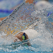 Yang Sun, China, in action in the Men's 400m Freestyle heats during the swimming heats at the Aquatic Centre at Olympic Park, Stratford during the London 2012 Olympic games. London, UK. 28th July 2012. Photo Tim Clayton