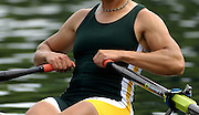Lucerne, SWITZERLAND.  RSA W1X, Rika GEYSER, competing in the C Final, Women's Single Sculls, at the 2008 FISA World Cup Regatta, Round 2.  Lake Rotsee, on Saturday,  31/05/2008  [Mandatory Credit:  Peter Spurrier/Intersport Images].Lucerne International Regatta. Rowing Course, Lake Rottsee, Lucerne, SWITZERLAND.