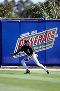 SARASOTA, FL-MARCH 1994:  NBA Hall of Famer Michael Jordan works out as a member of the Chicago White Sox during spring training in Sarasota, Florida in March 1994.  (Photo by Ron Vesely)