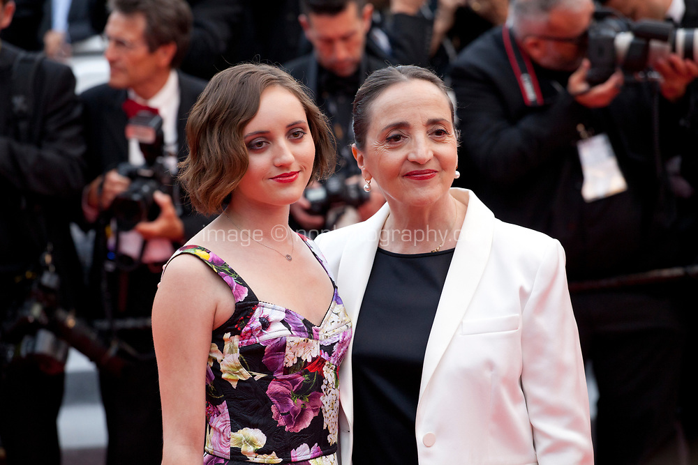 Eve Jean and Dominique Blanc at the La Belle Epoque gala screening at the 72nd Cannes Film Festival Monday 20th May 2019, Cannes, France. Photo credit: Doreen Kennedy