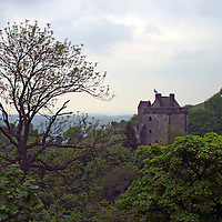 Europe, Great Britain, United Kingdom, Scotland, Campbell Castle.