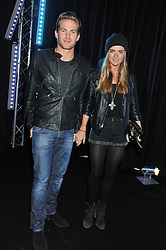JACOBI ANSTRUTHER-GOUGH-CALTHORPE and his sister CRESSIDA BONAS at a party to celebrate the launch of the new 2&8 club at Morton's Berkeley Square, London on 27th September 2012.