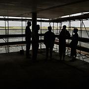 1e bewoners Sfinxen bezoeken woningen Gooimeerkade Huizen