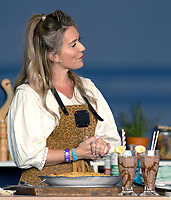 candice brown at the Big Feastival 2021 on Alex James Cotswolds farm, Kingham oxfordshire  photo by Michael Butterworth