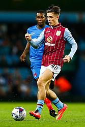 Jack Grealish of Aston Villa in action - Photo mandatory by-line: Rogan Thomson/JMP - 07966 386802 - 27/08/2014 - SPORT - FOOTBALL - Villa Park, Birmingham - Aston Villa v Leyton Orient - Capital One Cup Round 2.