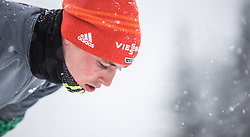 31.01.2016, Casino Arena, Seefeld, AUT, FIS Weltcup Nordische Kombination, Seefeld Triple, Skisprung, im Bild Eric Frenzel (GER) // Eric Frenzel of Germany before his Competition Jump of Skijumping of the FIS Nordic Combined World Cup Seefeld Triple at the Casino Arena in Seefeld, Austria on 2016/01/31. EXPA Pictures © 2016, PhotoCredit: EXPA/ JFK