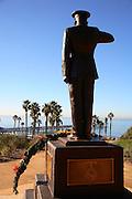 Park Semper Fi Marine Sculpture In San Clemente