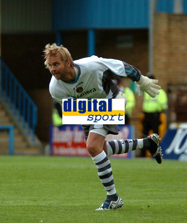 Photo: Tony Oudot.<br /> Gillingham v Charlton Athletic. Pre Season Friendly. 28/07/2007.<br /> Nicky Weaver of Charlton Athletic