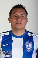 Mexico League 2013-2014 - First Division / <br /> Club de Futbol Pachuca / Mexico - <br /> Alberto Acosta