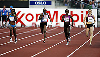 Friidrett , 5. juni 2010 , Bislett Games , Diamond League ,<br /> <br /> Aleksandra Fedoriva<br /> Anneisha Mclaughlin<br /> Sheri-Ann Brooks<br /> Debbie Ferguson-Mckenzie<br /> <br /> <br /> , 200 m