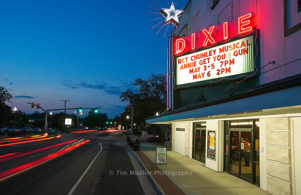 The Dixie Center for the Arts is located on North Vienna Street in downtown Ruston, La. Dixie Theatre began as the Astor Theater in 1928. It was sold five times in its history, survived a  fire in 1933, and the challenges of the Great Depression.  Although it has seen many changes, the legacy of the Dixie continues in Ruston.
