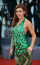 Katya Mtsitouridze  walks the red carpet ahead of the 'The Shape Of Water' screening during the 74th Venice Film Festival in Venice, Italy, on August 31, 2017. (Photo by Matteo Chinellato/NurPhoto/Sipa USA)