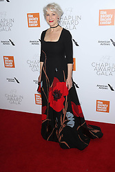 Helen Mirren at The 45th Annual Chaplin Awards in New York City.
