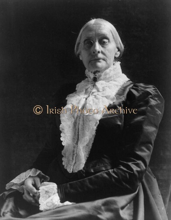 Susan B. Anthony 1890.Frances Benjamin Johnston