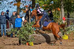 Primus Kirsten, BEL, Nadine<br /> LRV Ponie cross - Zoersel 2018<br /> © Hippo Foto - Dirk Caremans<br /> 28/10/2018