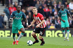 March 9, 2019 - Southampton, England, United Kingdom - eyes wide open Southampton midfielder James Ward-Prowse during the Premier League match between Southampton and Tottenham Hotspur at St Mary's Stadium, Southampton on Saturday 9th March 2019. (Credit Image: © Mi News/NurPhoto via ZUMA Press)