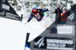 Claudia Riegler of Austria during FIS Snowboard World Cup Rogla 2013 in Parallel Giant slalom, on February 8, 2013 in Rogla, Slovenia. (Photo By Vid Ponikvar / Sportida.com)