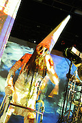 Skinny Puppy performs at Nokia Theater in Times Square, NYC. November 17, 2009.