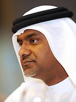 Fotball<br /> Tyskland<br /> Foto: Witters/Digitalsport<br /> NORWAY ONLY<br /> <br /> 05.01.2009<br /> <br /> Nabil Sultan<br /> Pressekonferenz Dubai Football Challenge 2009 Trainingslager HSV in Dubai