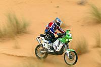 AUTO - DAKAR 2005 - STAGE 10 - ATAR . ATAR 10/01/2005 - PHOTO : GIGI SOLDANO / DPPI<br /> MOTO - PåL ANDERS ULLEVÅLSETER / KTM <br /> FOTO: DIGITALSPORT