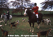 English Traditional Fox chase, York Co., PA