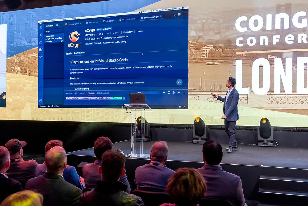 Coingeek London 2020, Bitcoin SV