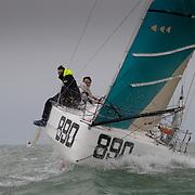 Entrainement du pole Mini La Rochelle durant l'hiver 2021