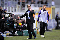 FOOTBALL - FRENCH CHAMPIONSHIP 2009/2010 - L1 - TOULOUSE FC v OLYMPIQUE LYONNAIS - 7/02/2010 - PHOTO JEAN MARIE HERVIO / DPPI - CLAUDE PUEL (OL COACH)