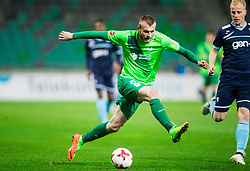 Alexandru Cretu of Olimpija during football match between NK Olimpija Ljubljana and ND Gorica in Round #26 of Prva liga Telekom Slovenije 2016/17, on March 29, 2017 in SRC Stozice, Ljubljana, Slovenia. Photo by Vid Ponikvar / Sportida
