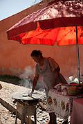 Cooking tortillas, Atononilco, Guanajuato, mexico
