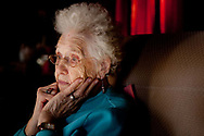 Normally cheerful, Thelma Trout, 97, starts to worry as she tries to remember where she put her bank deposit book. Trout, a retired caretaker, lives alone in a house along the Hocking River in Coolville, Ohio, and had just deposited $20 her daughter had sent in the mail.