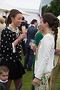 MELISSA MILLS; SASKIA BOXFORD, Cartier Queen's Cup final at Guards Polo Club, Windsor Great Park. 16 June 2013