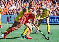 AMSTELVEEN - Marijn Veen (Ned)  tijdens  de  finale  Nederland-Australie  (2-2) (Ned. wns) van de Pro League hockeywedstrijd dames. COPYRIGHT  KOEN SUYK