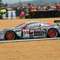 #59 Aston Martin DBR9 - Team Modena (Drivers - Antonio Garcia, Christian Fittipaldi and Jos Menten) GT1, Le Mans 24Hr 2007