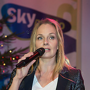 NLD/Hilversum /20131210 - Sky Radio Christmas Tree For Charity 2013, Marlayne Sahupala