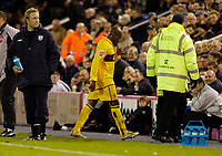 Photo: Leigh Quinnell.<br /> West Bromwich Albion v Burnley. Coca Cola Championship. 18/11/2006. Burnleys Frank Sinclair is sent off for a second bookable offence.