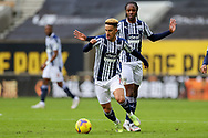 Callum Robinson (7) of West Bromwich Albion during the Premier League match between Wolverhampton Wanderers and West Bromwich Albion at Molineux, Wolverhampton, England on 16 January 2021.