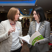 23.05.2018.       <br /> Today, the Institute of Community Health Nursing (ICHN) hosted its2018 community nurseawards in association withHome Instead Senior Care,at its annual nursing conference, in the Strand Hotel Limerick, rewarding public health nurses for their dedication to community care across the country. <br /> <br /> Pictured at the event were, Niamh Quinn, HSE, and Anne Lynott, ICHN President Picture: Alan Place