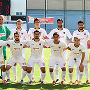 istanbulspor's Team during their Turkey Cup second leg soccer match istanbulspor between Kasimpasa at the Bahcelievler Stadium at istanbul Turkey on wednesday, 26 September 2012. Photo by TURKPIX